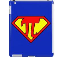 Nerd Things - Superman got Pi power iPad Case/Skin