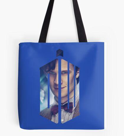 Doctor Who - Logo mash up Tote Bag