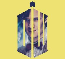 Doctor Who - Logo mash up Kids Tee