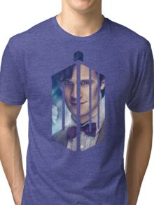 Doctor Who - Logo mash up Tri-blend T-Shirt