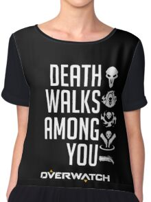 OVERWATCH REAPER Chiffon Top
