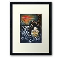 i have withdrawn Framed Print