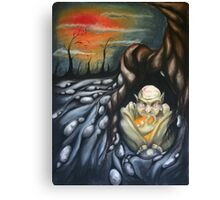 i have withdrawn Canvas Print