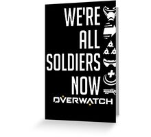 OVERWATCH SOLDIER 76 Greeting Card