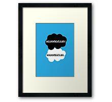 Hannigram - TFIOS Framed Print