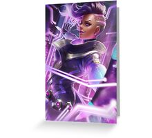 OVERWATCH SOMBRA Greeting Card