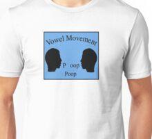 Vowel Movement Unisex T-Shirt