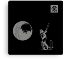 Melbourne Cricket Club - Retro Apparel Canvas Print