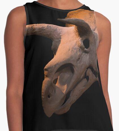 Triceratops dinosaur skull Contrast Tank