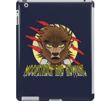 MOONSTRUCK AND HOWLING iPad Case/Skin