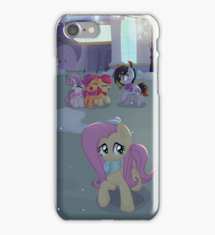 Christmas in Canterlot iPhone Case/Skin