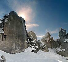 Climbing To Meet the Sun by Peter Kurdulija