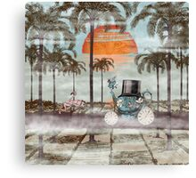 Alice Goes to California Canvas Print