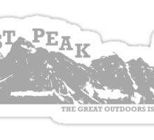 East Peak Apparel - Mountain Print - T-Shirts Sticker