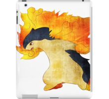 Typhlosion- The Volcano Pokemon iPad Case/Skin
