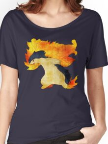 Typhlosion- The Volcano Pokemon Women's Relaxed Fit T-Shirt