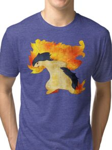 Typhlosion- The Volcano Pokemon Tri-blend T-Shirt