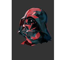 DARTH VADER - LOW POLY Photographic Print