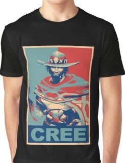 OVERWATCH MCCREE Graphic T-Shirt