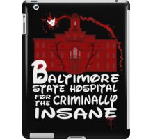 baltimore state hospital for the criminally insane (2) - disney iPad Case/Skin