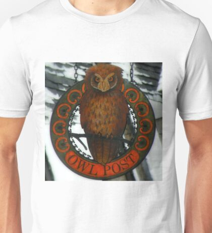 The Owl Post At Hogsmeade Unisex T-Shirt