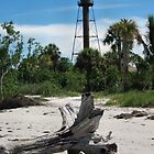 sanibel lighthouse by Kim Stelfox