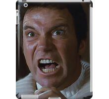 William Shatner Captain Kirk / Khan digital painting iPad Case/Skin