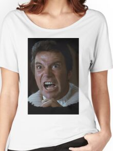 William Shatner Captain Kirk / Khan digital painting Women's Relaxed Fit T-Shirt