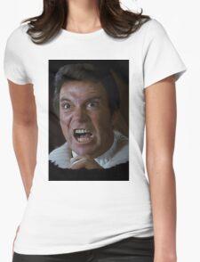 William Shatner Captain Kirk / Khan digital painting Womens Fitted T-Shirt