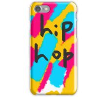hip hop abstract painting  iPhone Case/Skin