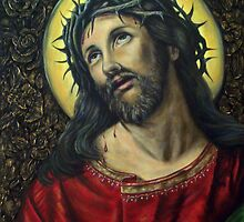 Suffering Christ by Tahnja