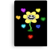 Flowey and the Souls Canvas Print