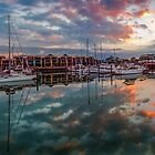 Raby Bay Marina - Cleveland Qld Australia by Beth  Wode
