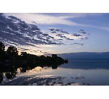 Purple Sunrise Clouds Photographic Print