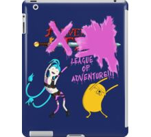 League of Adventure: Jinx and Jake dance iPad Case/Skin