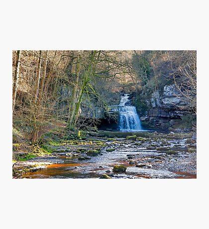 Autumn at Cauldron Falls Photographic Print