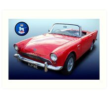 Sunbeam Alpine Art Print