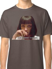 Pulp Fiction - Mia Wallace Face Classic T-Shirt