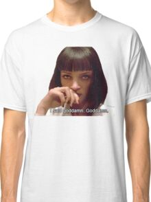 Pulp Fiction - Mia Wallace Face Classic T-Shirt