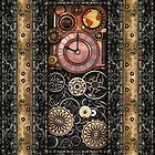 Infernal Steampunk Timepiece #2B phone cases by Steve Crompton