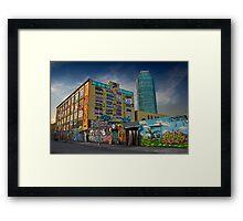 5-Pointz Framed Print