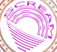 The Scream Mandala Sticker