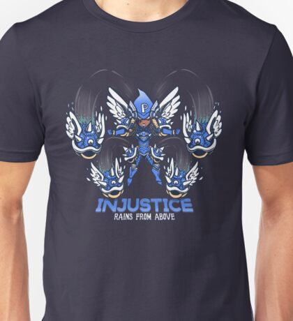 Injustice rains from above Unisex T-Shirt