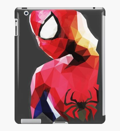 Low Poly Spider-Man iPad Case/Skin