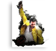 Freddie Mercury Canvas Print