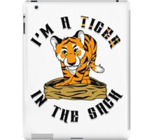 """""""Tiger in the Sack"""" By HippoAwesomeness iPad Case/Skin"""