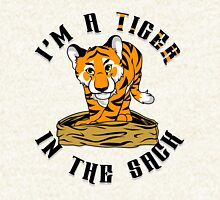 """Tiger in the Sack"" By HippoAwesomeness Hoodie"