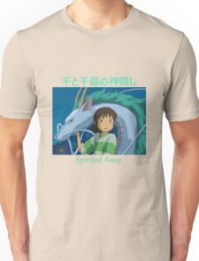 Spirited Away -  Haku and Chihiro - (Designs4You) - Studio Ghibli Unisex T-Shirt