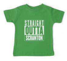STRAIGHT OUTTA SCRANTON Baby Tee