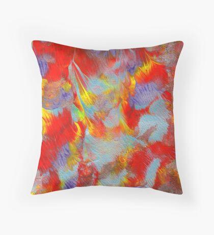 Beautiful Inferno Throw Pillow